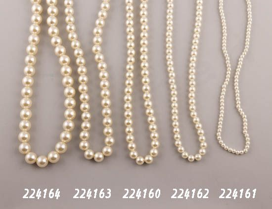Πέρλες από 5 έως 14mm χάντρες NewMan | bombonieres.com.gr