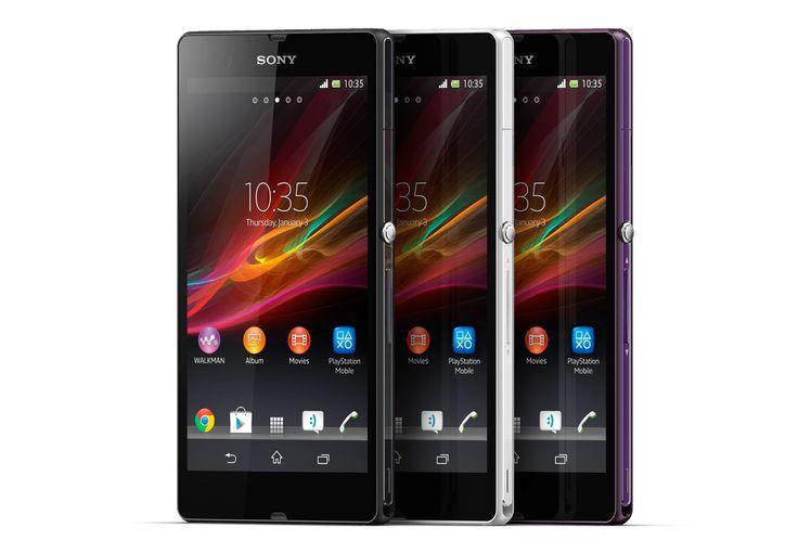 Sony Xperia Z 3 Colours - Black, White & Purple