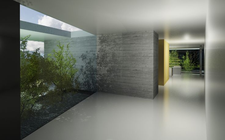 Private commision concept of family house 2015 - MARTINEK / ARCHITECT