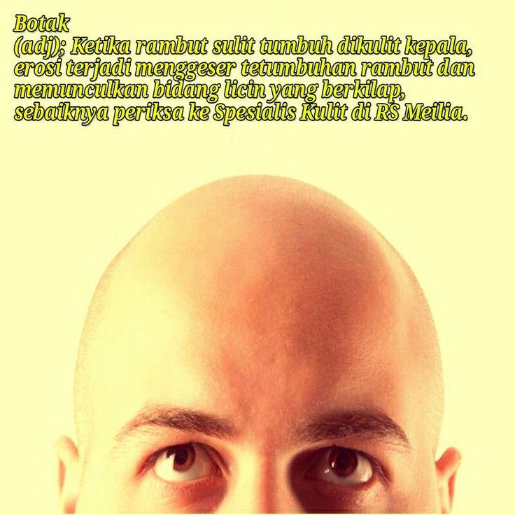 Botak #gundul #rambut #rontok #kulit #kepala #rsmeilia #sehat #cibubur #terbaik