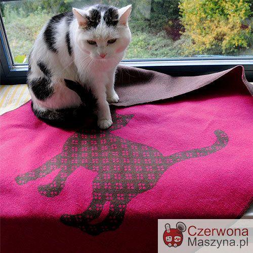 Koc dla kota DF Katz Cat Kitty Pink 70 x 90 cm - CzerwonaMaszyna.pl