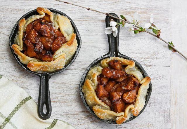 Easiest Ever Rustic Apple Tart | Sprinkle Bakes