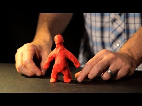 How to Create a Clay Character   Stop Motion - YouTube