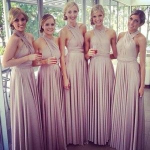27 Dresses How About 30 In One Instead Convertible Bridesmaid