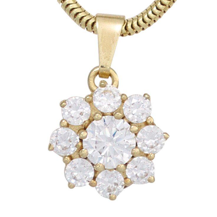 Anhänger 375 Gold Gelbgold 9 Zirkonia Goldanhänger | Schmuck günstig kaufen  https://rover.ebay.com/rover/1/707-53477-19255-0/1?icep_id=114&ipn=icep&toolid=20004&campid=5338190286&mpre=https%3A%2F%2Fwww.ebay.de%2Fitm%2F162587351956