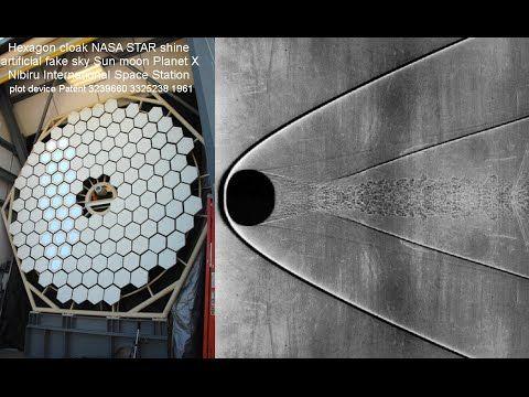 ISS Hexagon cloak NASA STAR shine artificial Sun moon ...