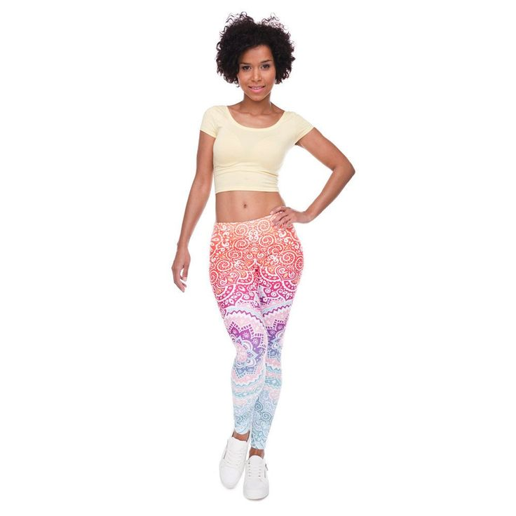 Aztec Leggings Ombre Leggings  Pants