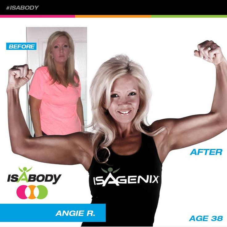 Thanks to the IsaBody Challenge Angie R. is feeling a lot lighter these days and her spirit is renewed! See more Isagenix success stories here!