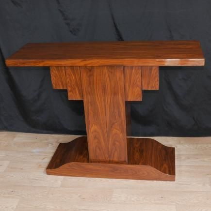art deco furniture 1920s. rosewood art deco modernist console table 1920s furniture e