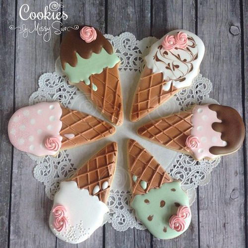 Ice cream is sort of the unofficial snack of the summer, which means that ice cream cookies should sort of be the unofficial cookie of the season too... right? These fifteen batches of ice cream in...