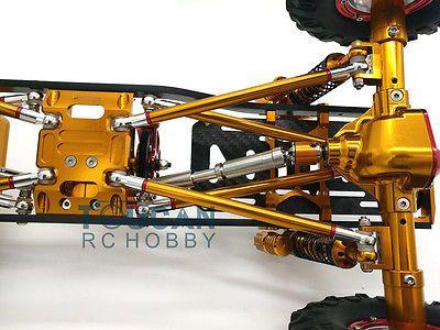 1/10 AXIAL SCX10 D90 CNC Rock Crawler RC Car Model Aluminium Alloy Metal Frame