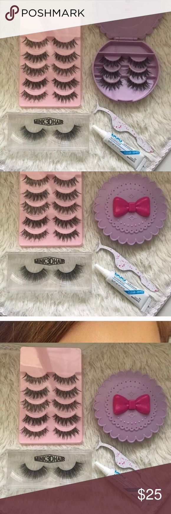 Eyelash set +$2 Add on eyelash Applicator  +$3 Add on eyelash glue Please message me if you want to add them.   ❌No Offers ✅ Bundle &  Save  # tags Iconic, mink, red cherry eyelashes, house of lashes, doll, kawaii, case, full, natural,  Koko, Ardell, wispies, Demi , makeup, Iconic, mink, red cherry eyelashes, house of lashes, doll, kawaii, case, full, natural,  Koko, Ardell, wispies, Demi , makeup, mascara, eyelash applicator, Mykonos Mink , Lashes , wispy ,eyelash case, mink lashes  Ship