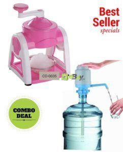 Water Pump & Manual Ice Shaver Online in Pakistan