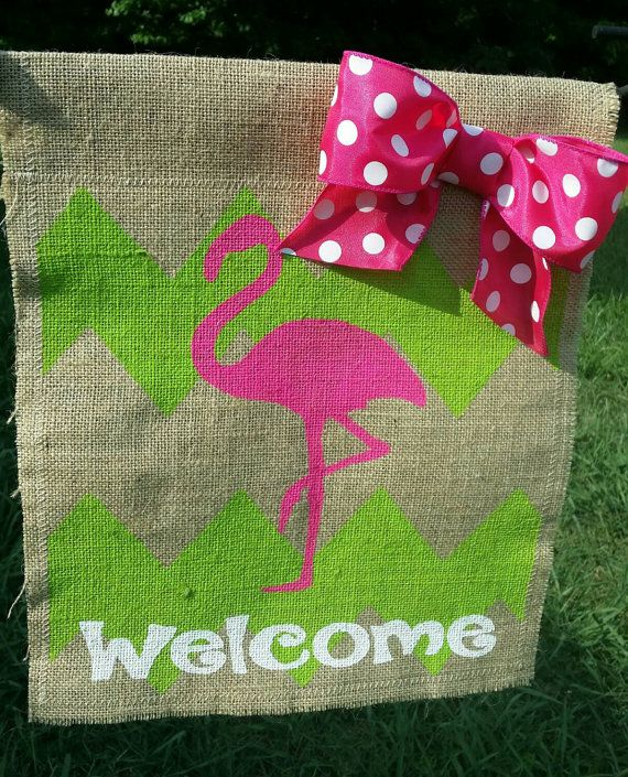 Hey, I Found This Really Awesome Etsy Listing At #burlapflag #garden #spring