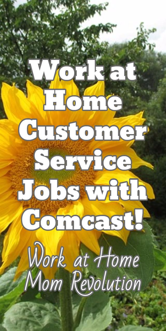 Comcast Work at Home Customer Service Jobs Customer