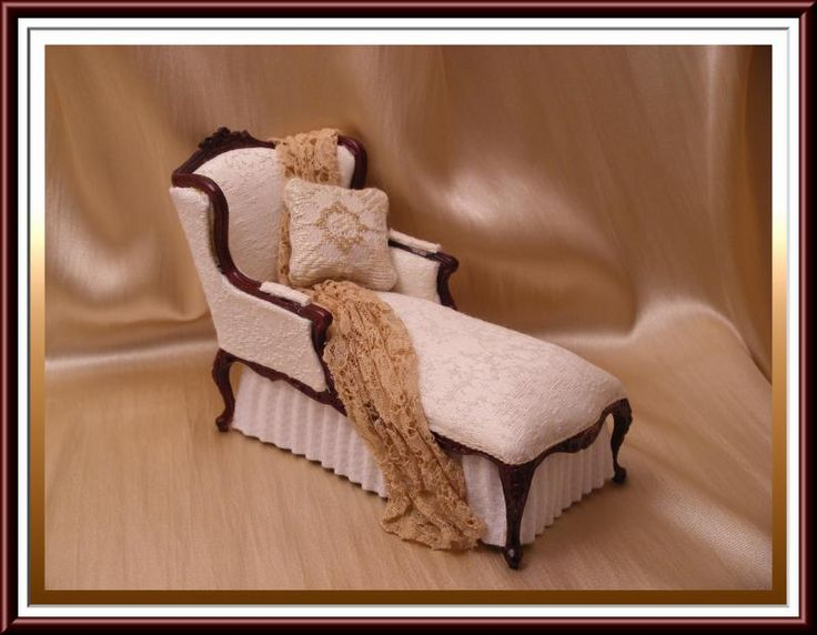 17 best images about miniature wilson santiago on for Baby chaise lounge