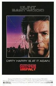 "Sudden Impact is a 1983 American crime thriller and the fourth film in the Dirty Harry series, directed by and starring Clint Eastwood (making it the only Dirty Harry film to be directed by Eastwood himself). The film is probably best remembered for Harry's catchphrase, ""Go ahead, make my day"", often incorrectly attributed to the original film in the series."