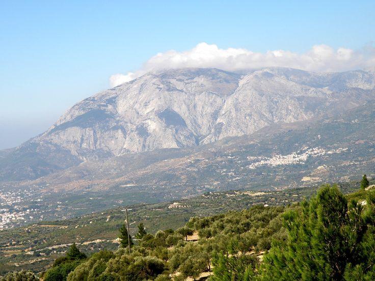Mountain Kerkis and Marathokampos