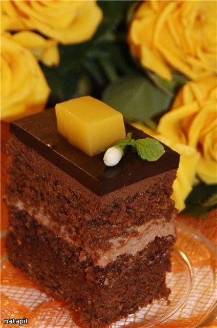 "Торт ""Захер Orange"""