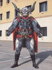 """Buffalord is the second upgraded Rinshi to battle the rangers. He has the spirit of the buffalo. He has tremendous strength. But he was ultimately defeated by Casey after learning a few new techniques, and later defeated by the Jungle Pride Megazord's Savage Kick. Buffalord alongside Slickagon and Pangolin played along in the game show """"Blow That Dough"""" against the Rangers. He beat the Dominic Hargan when he answered the question on what Dai Shi's spirit was imprisoned in. Buffalord..."""