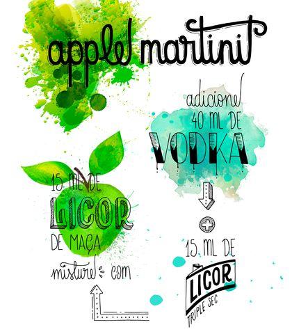 Aline Albino - Apple Martini