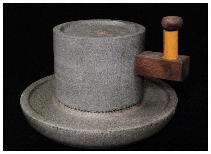 VG10 Japanese style old Stone mill / soba,wheat,unpolished rice etc. / sado  | eBay