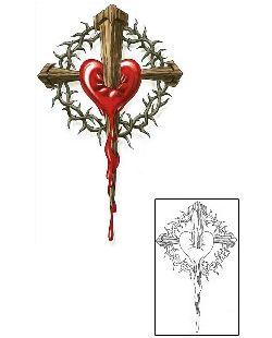 Show details for Christian Tattoo Religious & Spiritual tattoo | CCF-00697