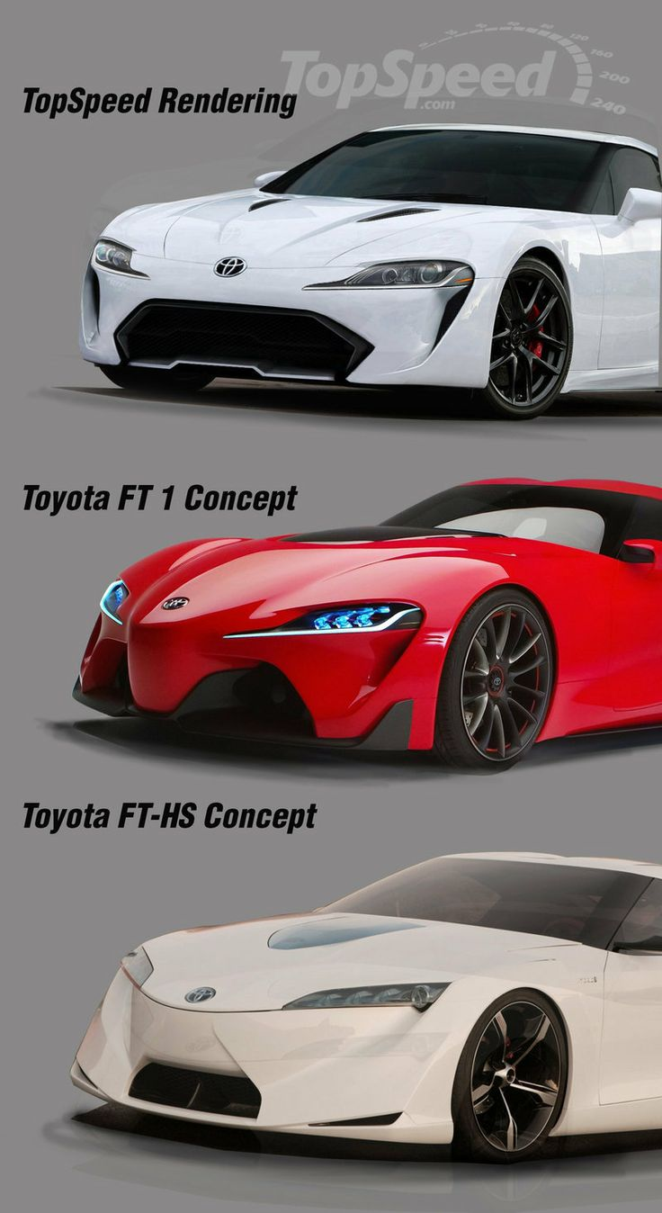 Toyota ft 1 concepts