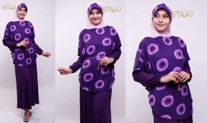Hijab Modern Instan Terbaru dari Tie Dye