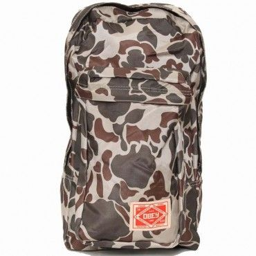 Commuter Pack from Obey in Desert Camo