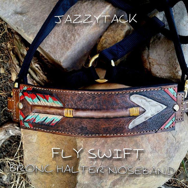 Fly Swift Bronc Halter Noseband - JazzyTack