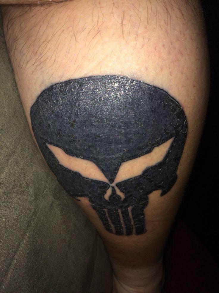 3d Iphone 8 Wallpaper My Tattoo Of The C5 Corvette C5r Jake Skull Punisher My