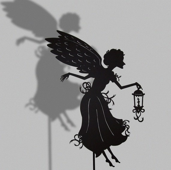 Laser cut shadow puppet