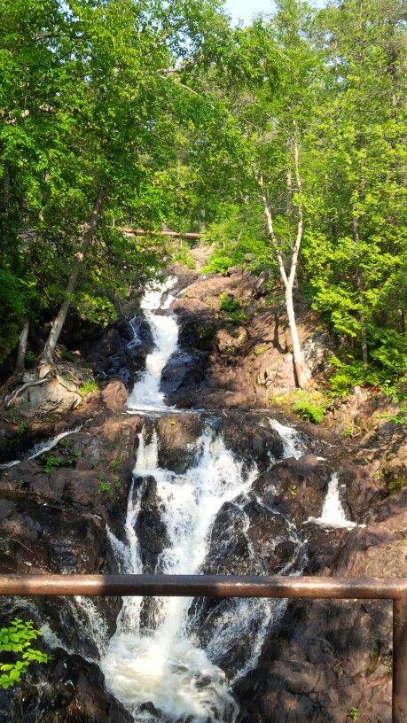 Hiawatha falls ,Sault Ste. Marie, Ontario Canada