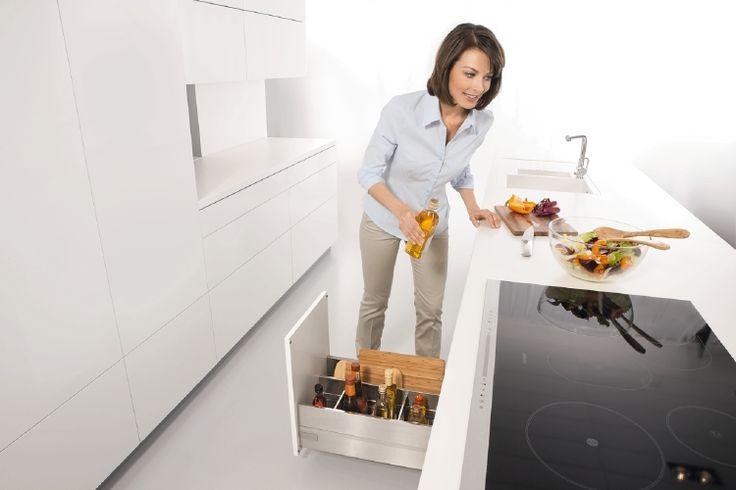 Lade-indelingen van ORGALUX - Product in beeld - Startpagina voor keuken ideeën | UW-keuken.nl