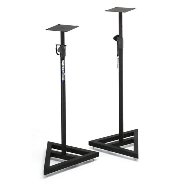 Samson MS200 Monitor Stands (Pair) at Gear4music.com