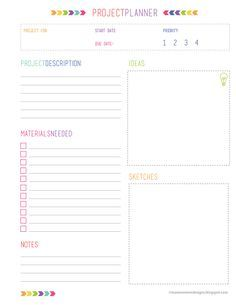 Project Planner Free Download