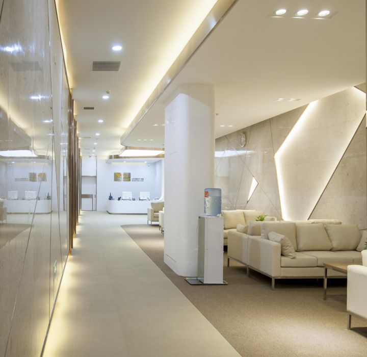 Le Jian Specialist Clinicby United Design Practice Bejing China Retail Blog Clinic Interior DesignClinic DesignCommercial