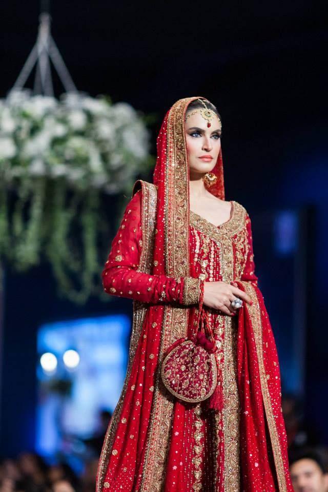 Style 360 bridal couture week 2014 karachi. #Nadia hussain
