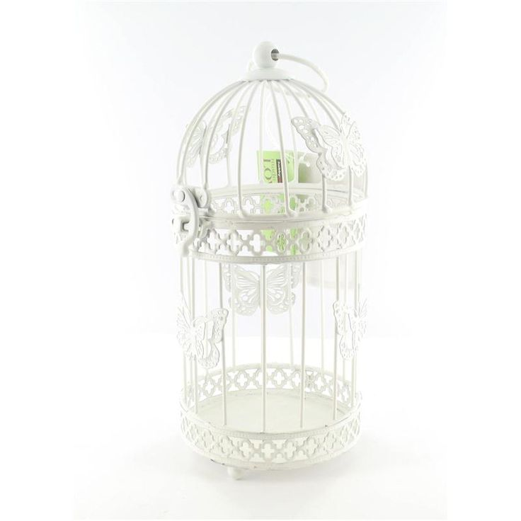 Decorative Butterfly Birdcage Hobbycraft - use for collecting all the wedding cards!