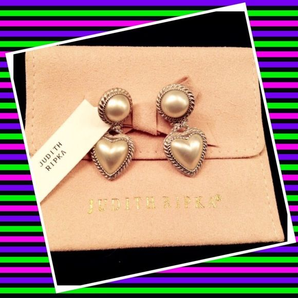 Authentic Judith Ripka 925 CZ Earrings % AUTHENTIC ✨ Gorgeous and sophisticated earrings from Judith Ripka! Don't miss this amazing deal Bought these, never used them. Timeless earringsJudith Ripka dust bag included NO TRADE FINAL PRICE  Judith Ripka Jewelry Earrings