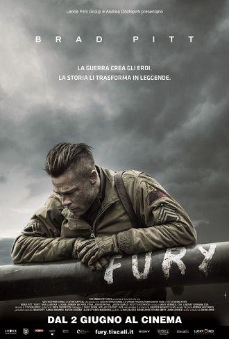 Fury (2015) GUERRA – DURATA 120′ – USA Quasi alla fine della Seconda guerra mondiale, nell'aprile del 1945, mentre gli Alleati completano l'avanzata nel territorio europeo, un agguerrito sergente dell'esercito chiamato Wardaddy è al comando di un carro armato Sherman e di un gruppo di cinque uomini per una pericolosa missione…