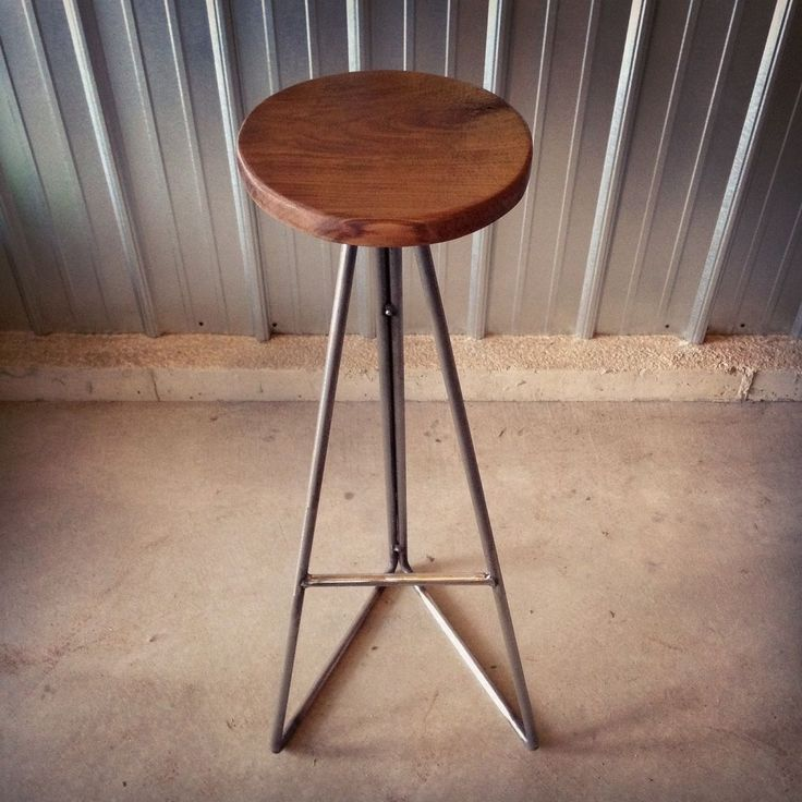Custom Made Walnut   Steel Extra Tall Bar StoolsBest 25  Extra tall bar stools ideas on Pinterest   Tall desk  Buy  . 32 Inch Tall Dining Table. Home Design Ideas
