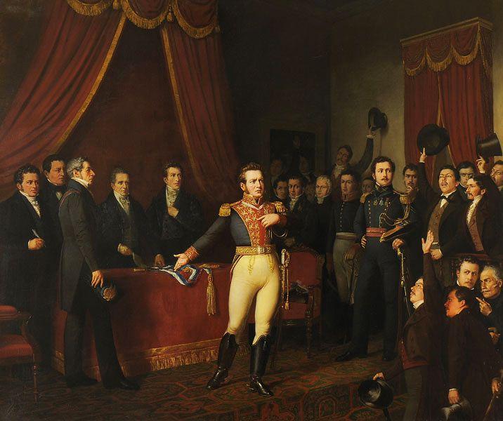 ABDICACIÓN DE O'HIGGINS. 1823