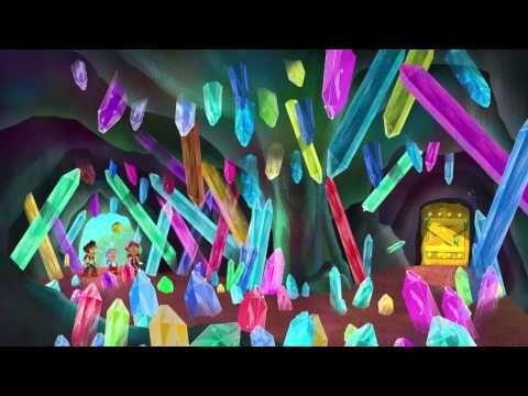 Jake en de Nooitgedachtland Piraten - De kristaltunnel - YouTube