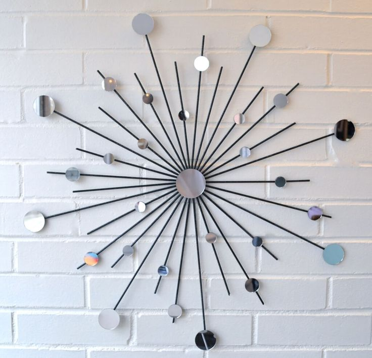 17 mejores ideas sobre decorativos para la pared en for Espejos decorativos juveniles