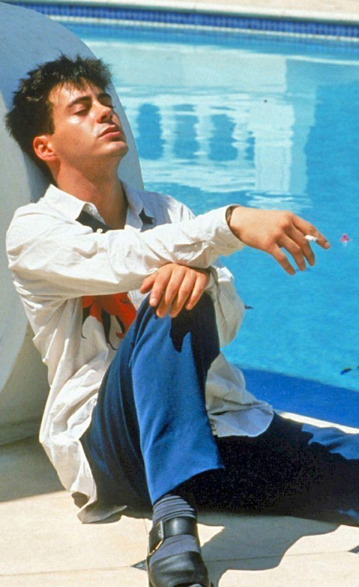 Robert Downey Jr. as 'Julian' in Less Than Zero (1987)