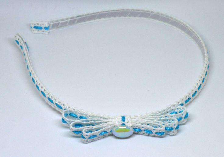 A personal favorite from my Etsy shop https://www.etsy.com/listing/575392793/handmade-headband-blueand-white-headband