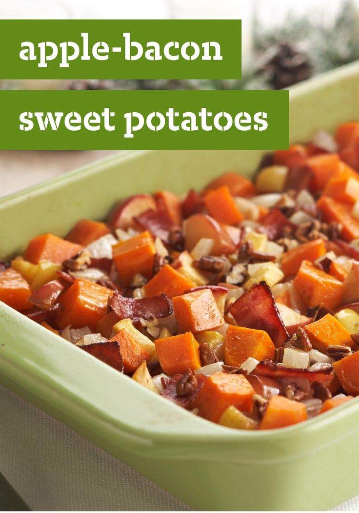 1355 best healthy living recipes images on pinterest healthy turkey bacon sliced apples and apple juice bring out the natural sweetness of the sweet potatoes in this easy to make healthy living casserole recipe forumfinder Gallery