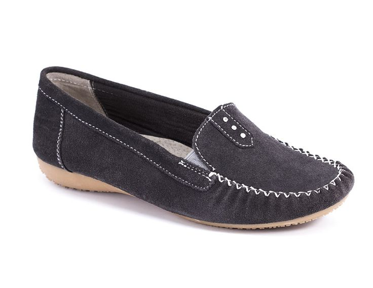 Home :: Incaltaminte dama :: Pantofi dama :: Pantofi sport :: Mocasini Elvira gri